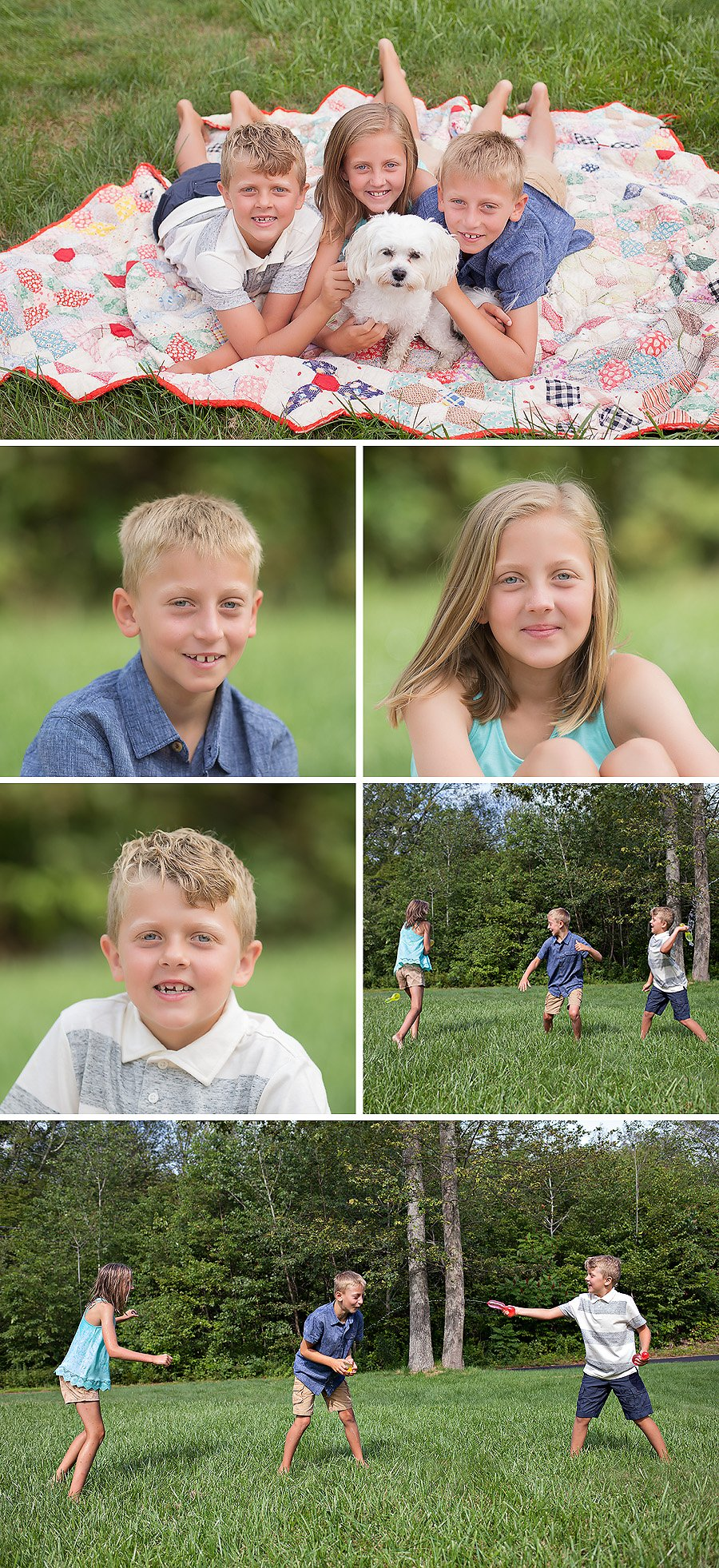 water balloon photo session