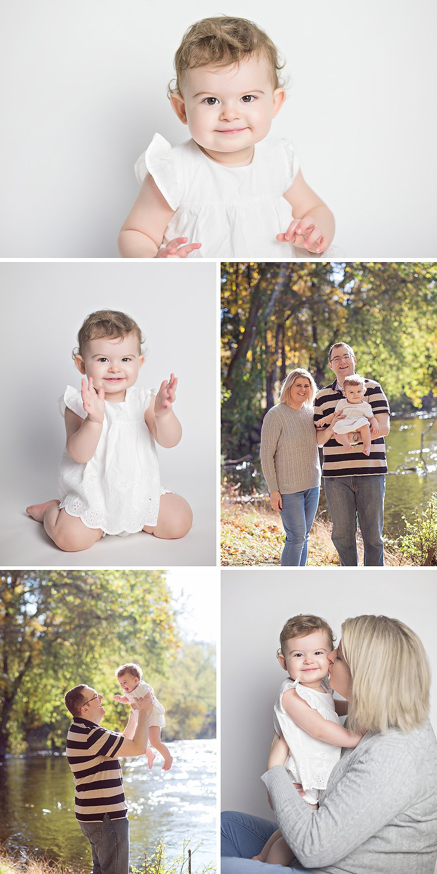 classic first birthday portraits