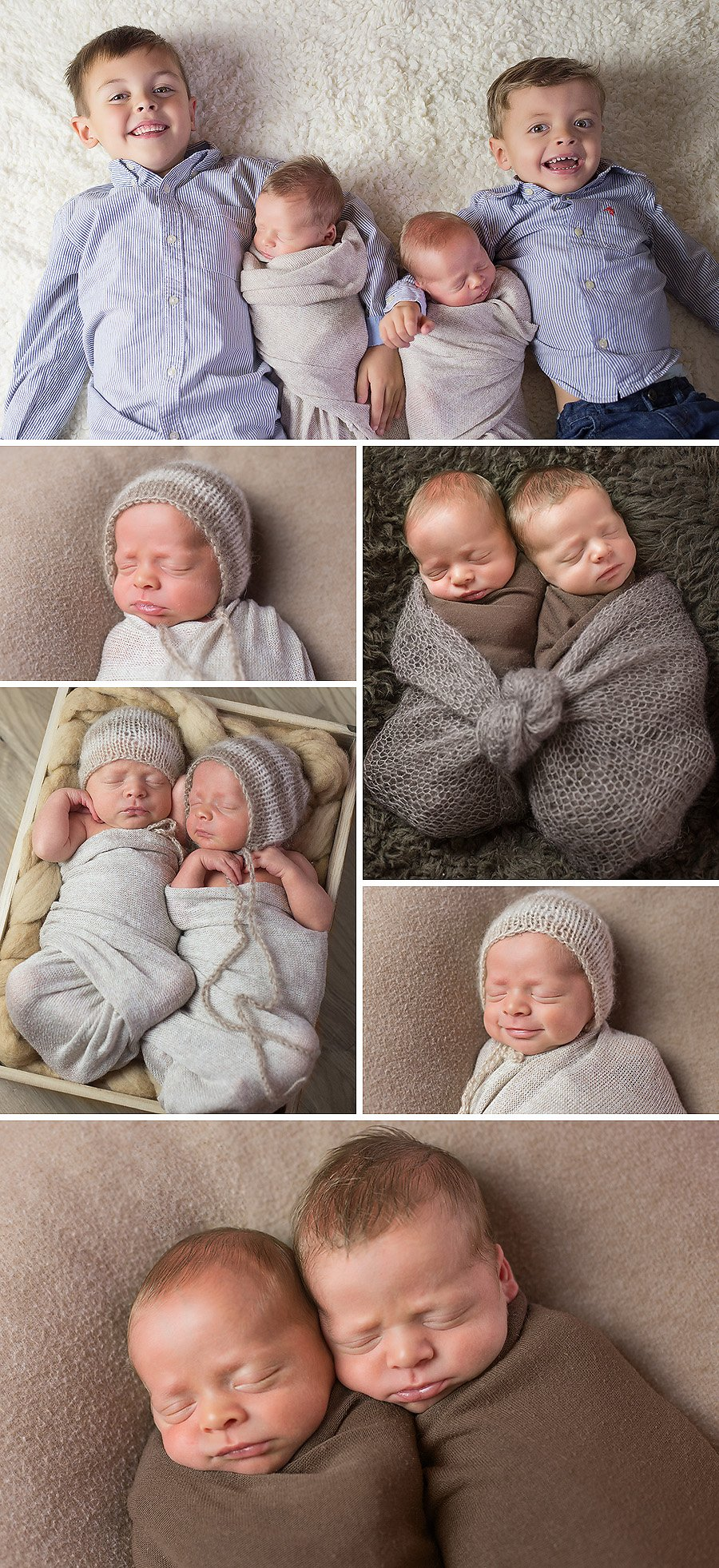 newborn twin boys